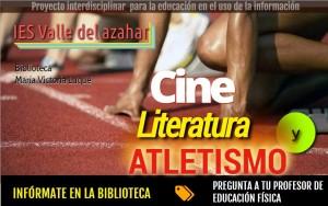 cine, literatura y atletismo